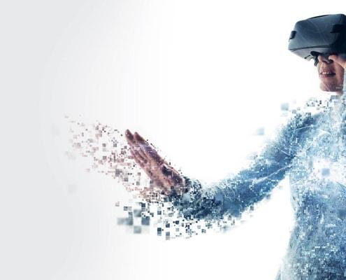 Akzent Digitalisierung oder Digital Transformiert